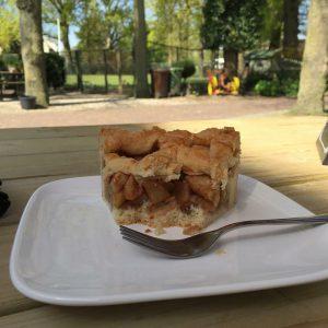 Huisgemaakte appeltaart van Theehuis Grootveen