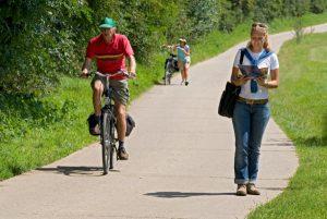 Wandel en fietsroutes