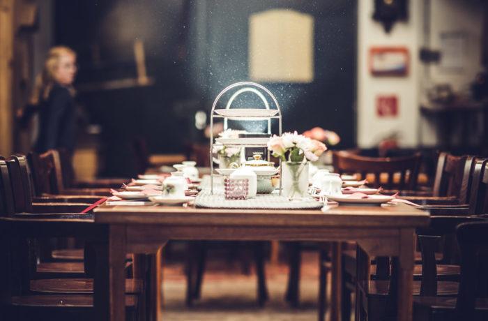 Ook voor een high tea is Theehuis Grootveen gezellig